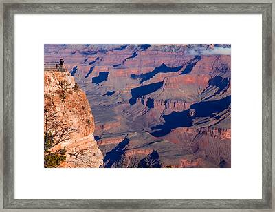 Framed Print featuring the photograph Grand Canyon 18 by Donna Corless
