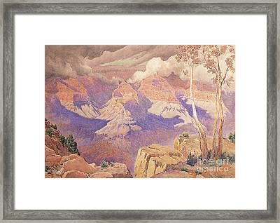 Grand Canyon, 1927  Framed Print by Gunnar Widforss