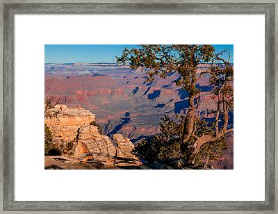 Framed Print featuring the photograph Grand Canyon 20 by Donna Corless