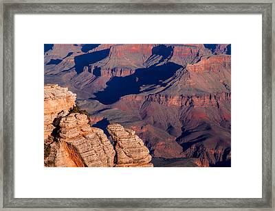 Framed Print featuring the photograph Grand Canyon 21 by Donna Corless
