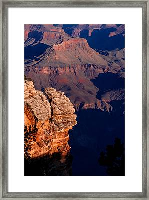 Framed Print featuring the photograph Grand Canyon 24 by Donna Corless