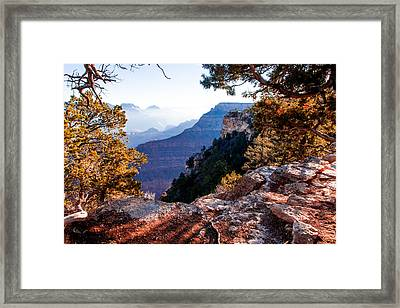 Framed Print featuring the photograph Grand Canyon 26 by Donna Corless