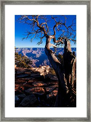 Framed Print featuring the photograph Grand Canyon 27 by Donna Corless