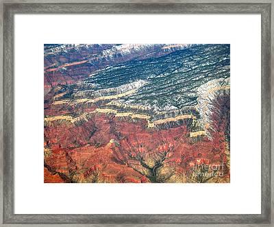Grand Canyon 3 Framed Print by Addie Hocynec