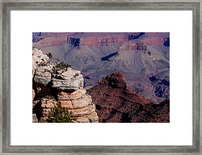 Framed Print featuring the photograph Grand Canyon 3 by Donna Corless