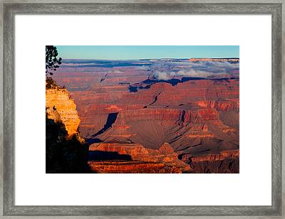 Framed Print featuring the photograph Grand Canyon 32 by Donna Corless