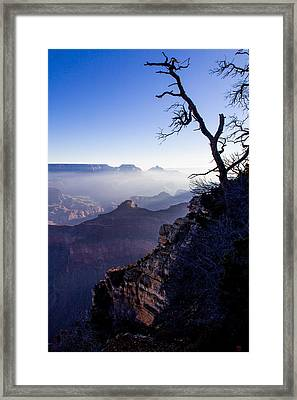 Framed Print featuring the photograph Grand Canyon 33 by Donna Corless
