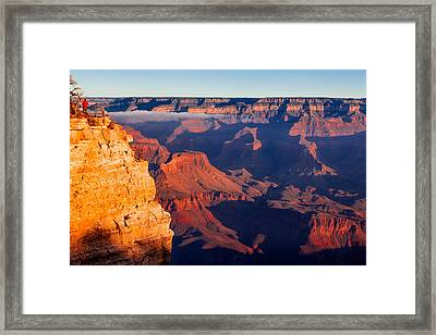 Framed Print featuring the photograph Grand Canyon 35 by Donna Corless