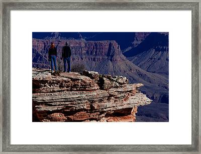 Framed Print featuring the photograph Grand Canyon 5 by Donna Corless