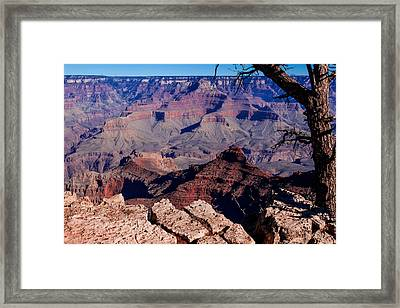 Framed Print featuring the photograph Grand Canyon 7 by Donna Corless