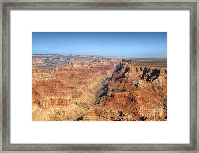 Grand Canyon Aerial View Framed Print