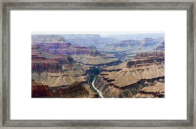 Grand Canyon And Colorado River 3 Of 5 Framed Print