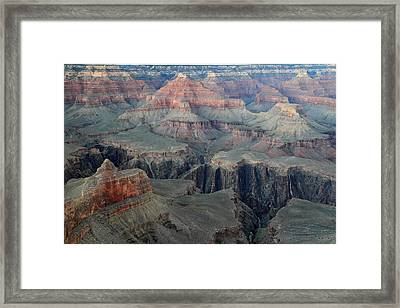 Grand Canyon At Dusk Framed Print by Pierre Leclerc Photography
