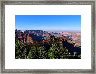 Grand Canyon Colors Framed Print