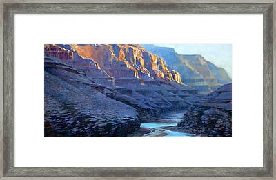 Grand Canyon Dawns Framed Print