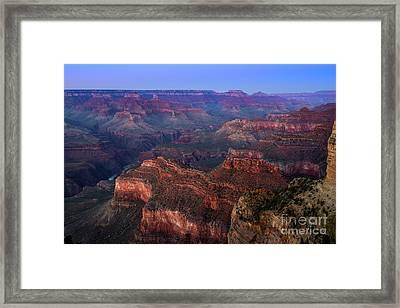 Grand Canyon Dusk Framed Print