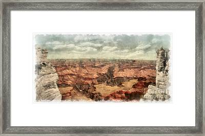 Grand Canyon Framed Print by Edward Fielding