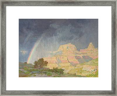 Grand Canyon Framed Print by Edward Henry Potthast