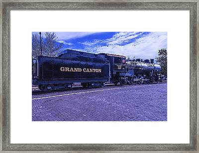Grand Canyon Engine 539 Train Framed Print