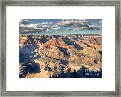 Grand Canyon Hopi Point Framed Print by Clarence Holmes