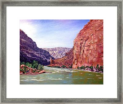 Grand Canyon I Framed Print by Stan Hamilton