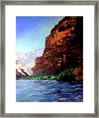 Grand Canyon II Framed Print by Stan Hamilton