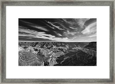 Grand Canyon In Motion Framed Print