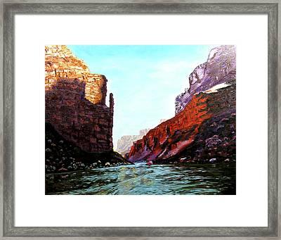 Grand Canyon Iv Framed Print by Stan Hamilton