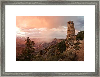Grand Canyon Framed Print by Lee Chon