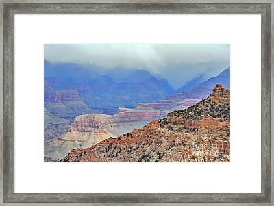 Grand Canyon Levels Framed Print