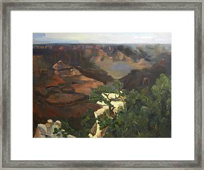 Grand Canyon Framed Print by Marcy Silverstein
