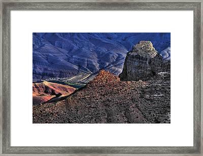 Grand Canyon Mystic Colors Framed Print