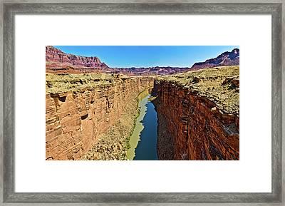Grand Canyon National Park Colorado River Framed Print