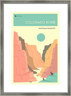Grand Canyon National Park Poster Framed Print
