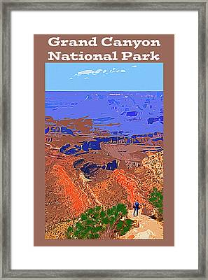 Grand Canyon Np Framed Print by Bruce