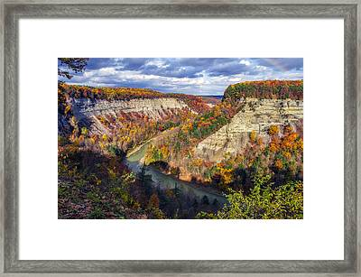 Grand Canyon Of The East Framed Print by Mark Papke
