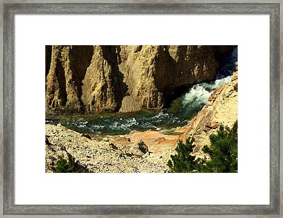 Grand Canyon Of The Yellowstone 3 Framed Print by Marty Koch