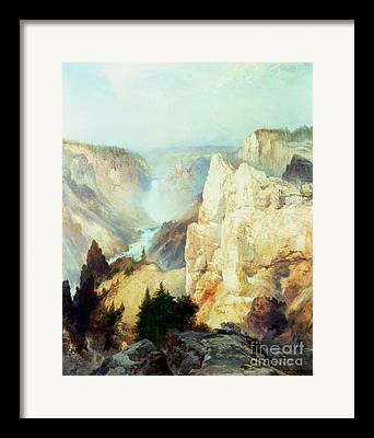 American Rock Framed Prints