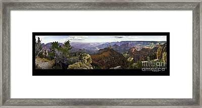 Grand Canyon Pan  Framed Print by Jonathan Fine