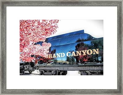 Grand Canyon Railroad Framed Print