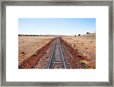 Grand Canyon Railway Framed Print by Thomas R Fletcher