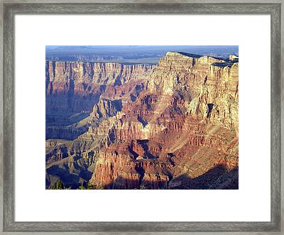 Framed Print featuring the photograph Grand Canyon South Rim by Norman Hall