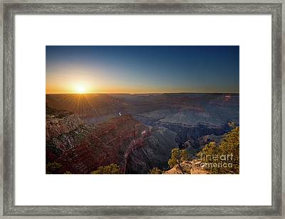 Grand Canyon Star Framed Print