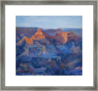 Grand Canyon Study Framed Print by Billie Colson