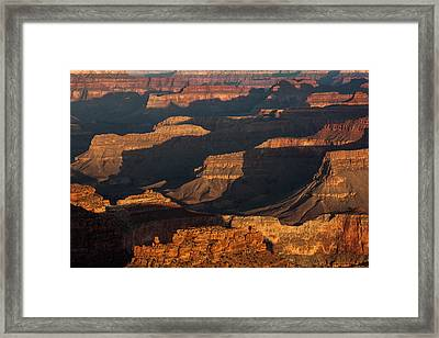 Grand Canyon Sunrise Framed Print