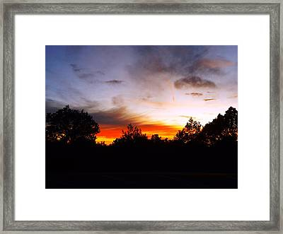 Grand Canyon Sunset Framed Print by Adam Cornelison