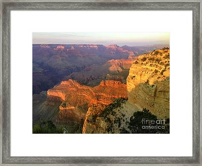 Grand Canyon Sunset Framed Print by Jon Q Wright