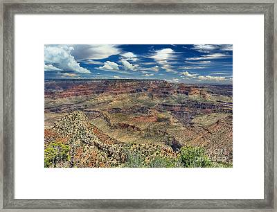 Grand Canyon View Framed Print by John Kelly