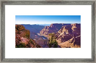 Grand Canyon View Framed Print by Lutz Baar