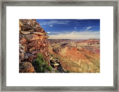 Grand Canyon Wall Framed Print